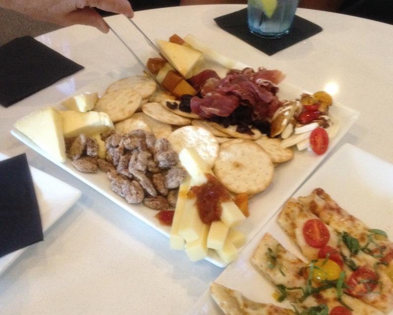 Seasonal Date Plate - combo of Cheddar, Asiago, triple cream Brie, Mozzarella & Prosciutto