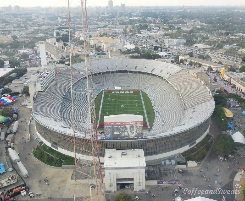 Cotton Bowl view