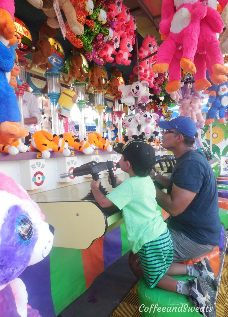 Midway Games at the State Fair of Texas
