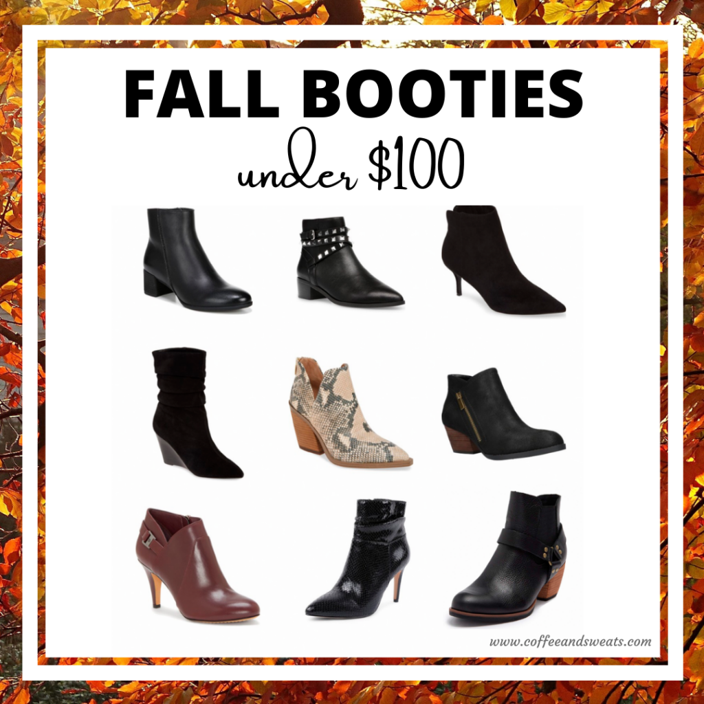 Fall Booties under $100